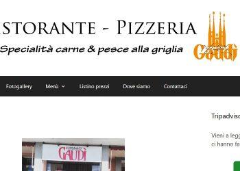Ristorante Pizzeria Gauditito – Restyling Sito web