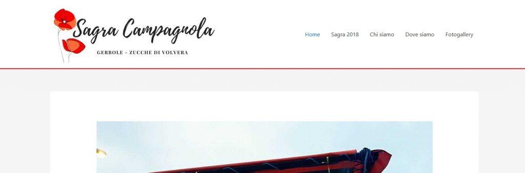 Sagra campagnola Gerbole Zucche di Volvera